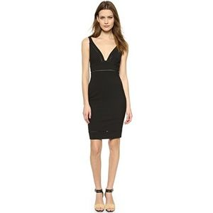 ELIZABETH & JAMES $385 Black Bodycon Cocktail Suzi